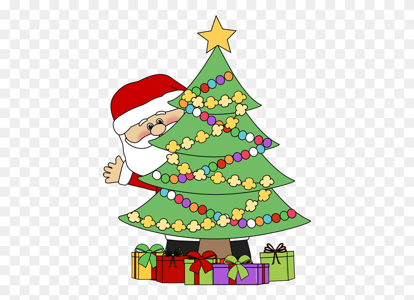 Christmas Tree Clip Art Free - Christmas Tree Clipart Transparent