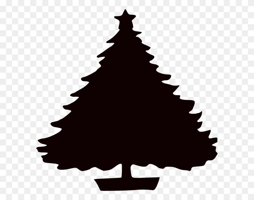 Christmas Tree Clipart - Pine Tree PNG