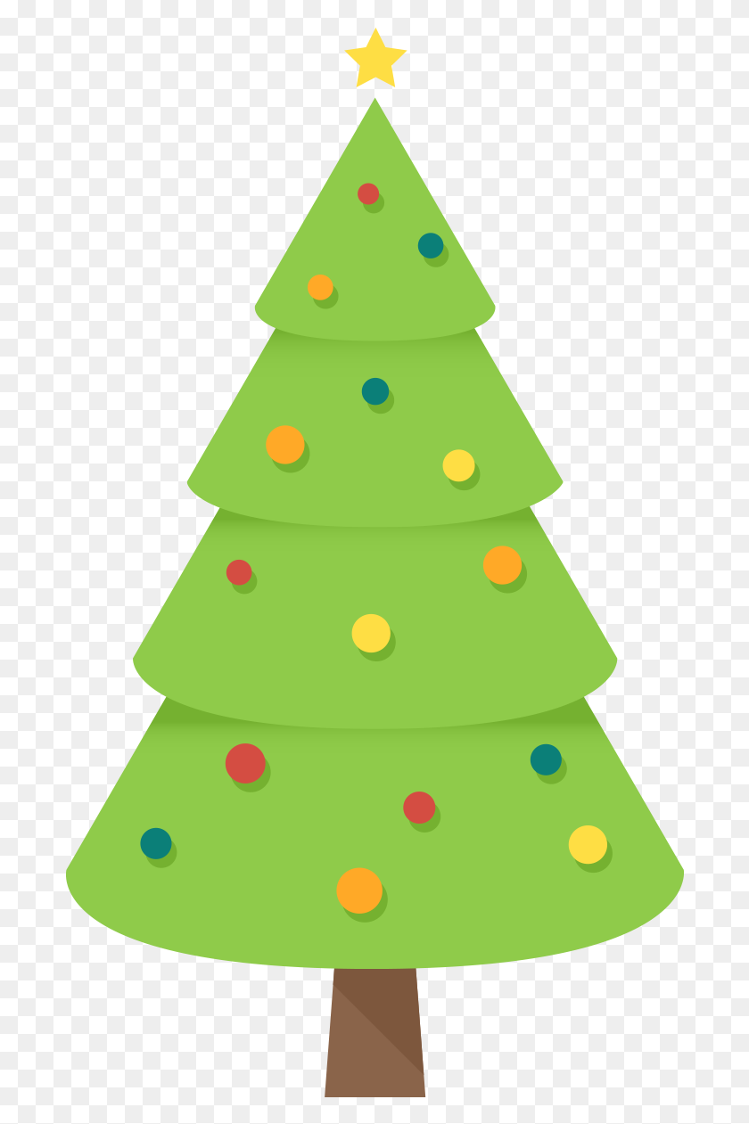 Christmas Tree Clipart Free Clip Art Images Freeclipart - Simple Christmas Clipart