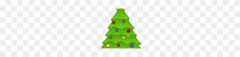 Christmas Tree Emoji Png Printable Coloring - Christmas Tree Clipart PNG