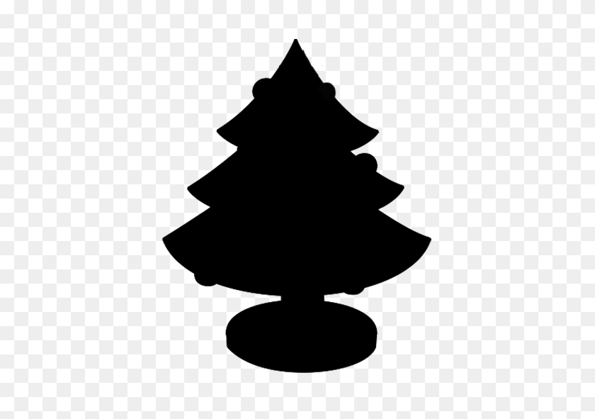 Christmas Tree Png Black And White - Pine Tree PNG