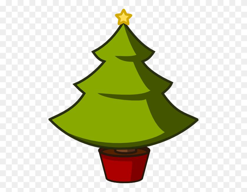 Christmas Tree Simple Clip Art - Simple Christmas Clipart