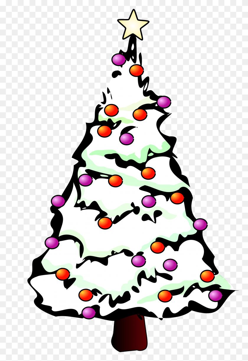 Christmas Tree Vector Art - Christmas Tree Clipart PNG