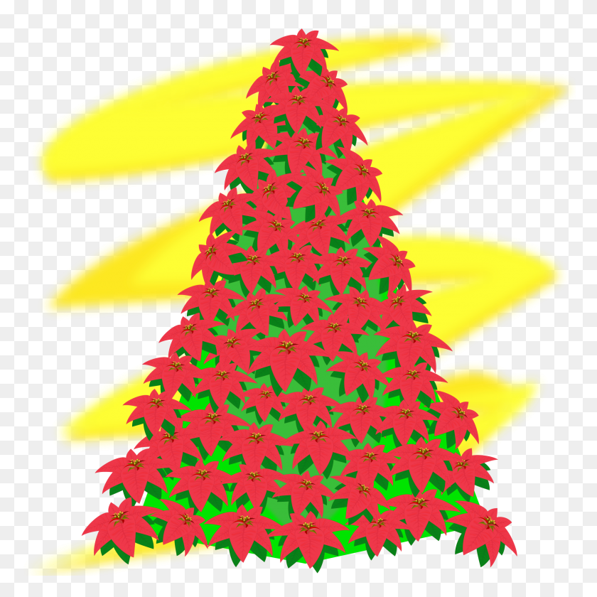 Christmas Tree Vector Png - Simple Christmas Clipart