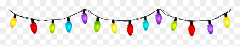 Christmas Lights Clip Art.Christmas Png Line Tinsel Clipart Stunning Free