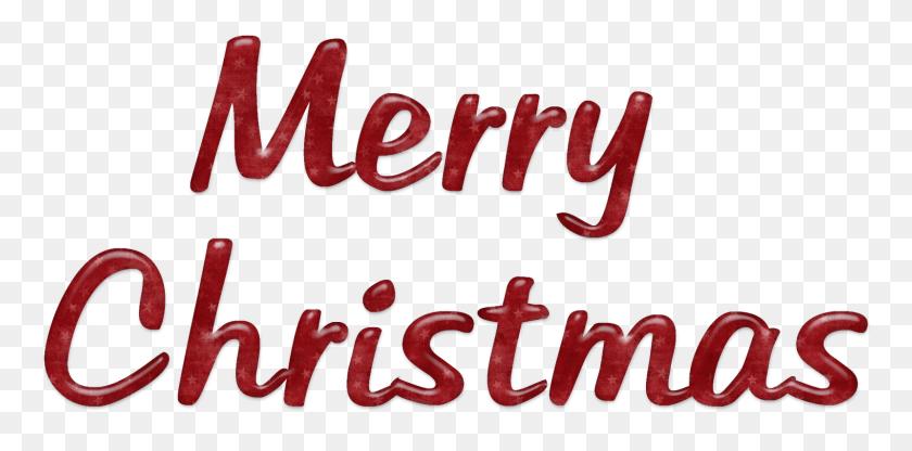 Christmas Word Png - Merry Christmas PNG