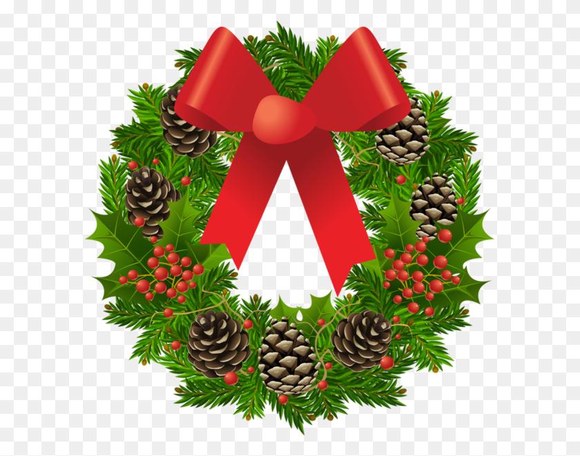 Christmas Wreath Clip Art Free Fantastic Christmas Wreath - Merry Christmas Wreath Clipart