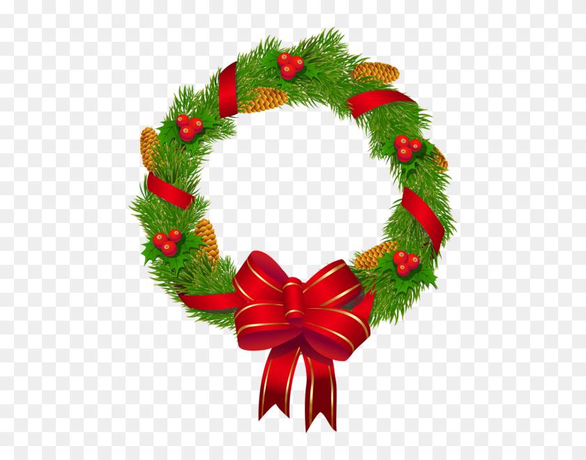 Christmas Wreaths Christmas - Merry Christmas Wreath Clipart