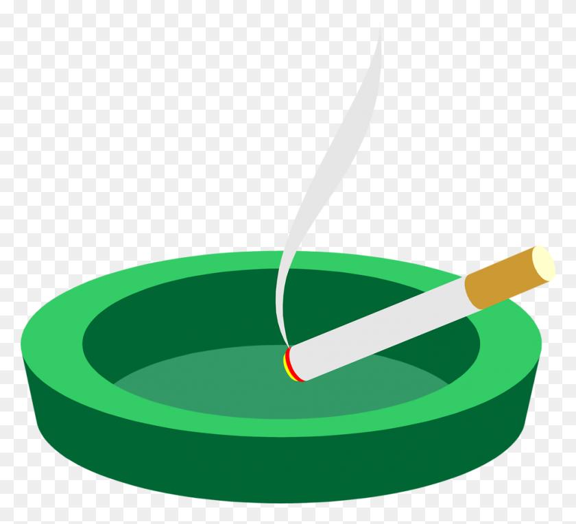 958x865 Cigarette Free Stock Photo Illustration Of A Cigarette - Ashtray PNG