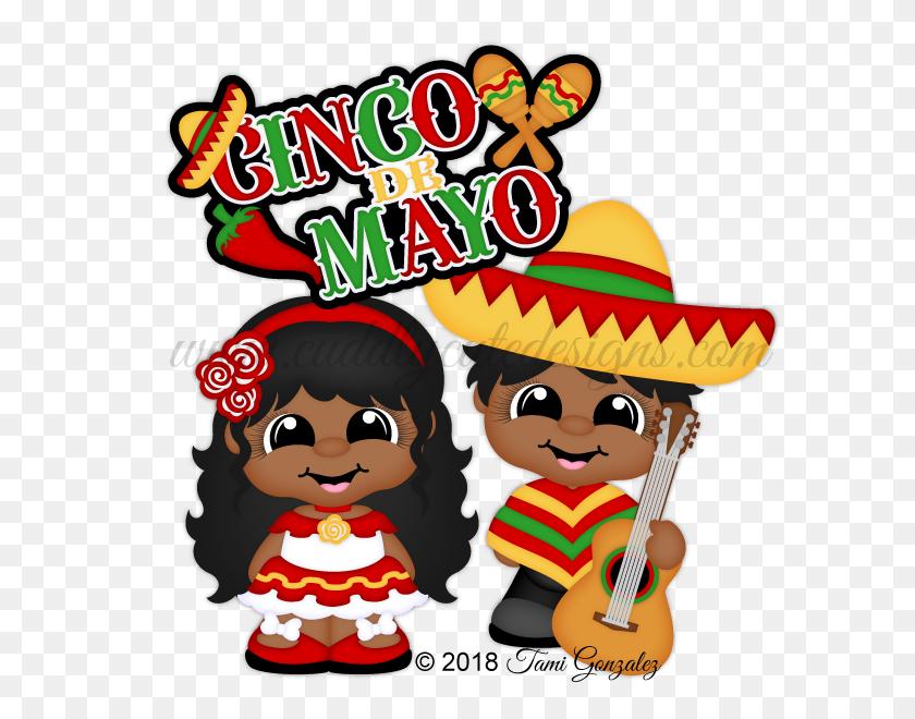 Cinco De Mayo Cuties - Clip Art Cinco De Mayo