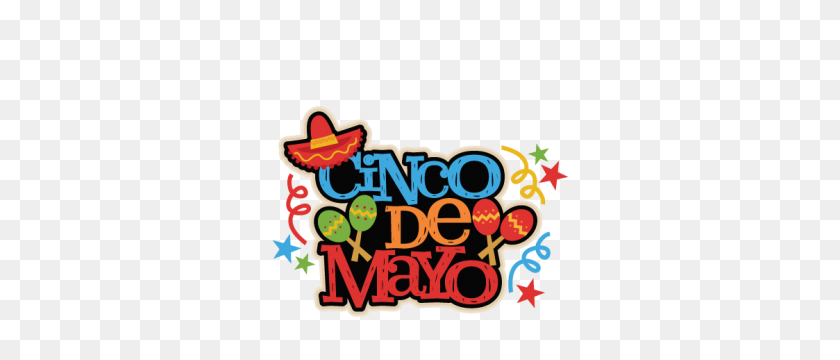 Cinco De Mayo Title Miss Kate Cuttables Cincodemayo - Clip Art Cinco De Mayo