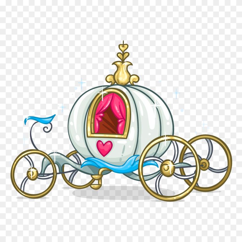 Cinderella, Cinderella - Princess Carriage Clipart