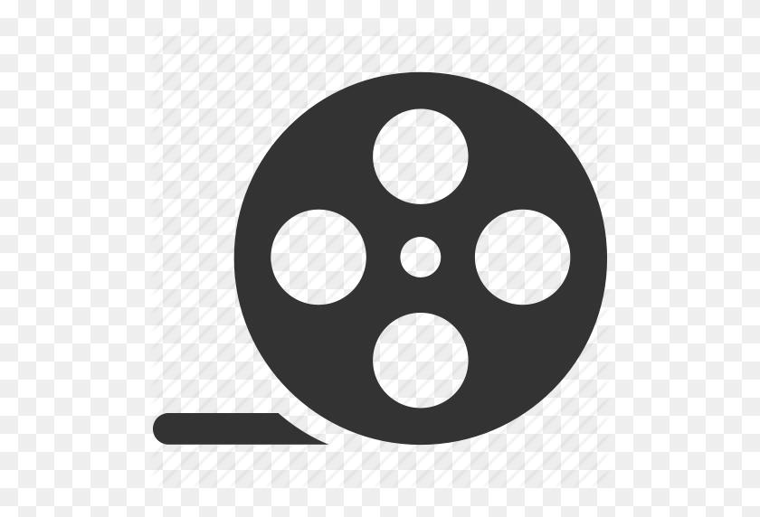 Cinema, Film, Media, Movie, Multimedia, Reel, Video Icon - Movie Reel PNG