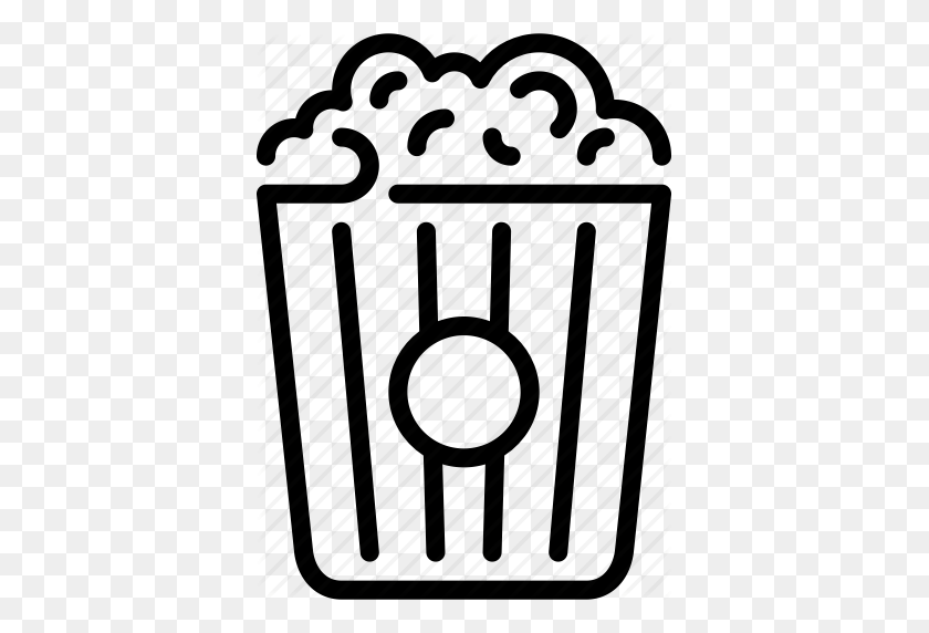 Cinema, Film, Movie, Movie Night, Popcorn, Snack, Video Icon - Movie Night PNG