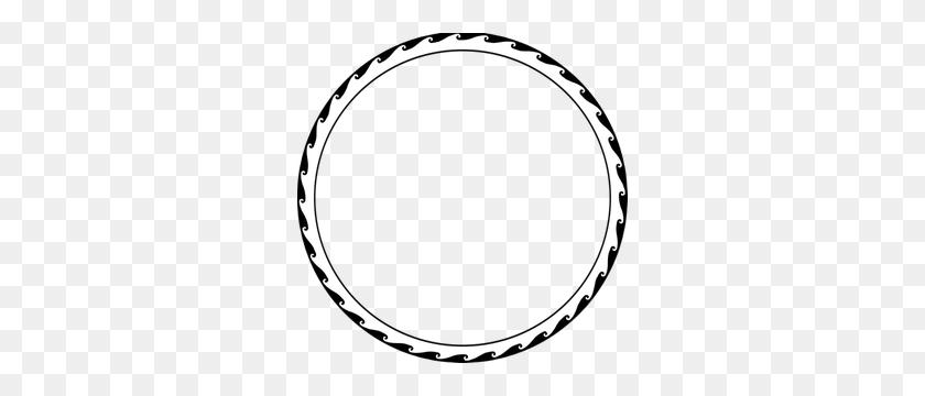 Circle Border Clip Art Elegant - Elegant Frame Clipart