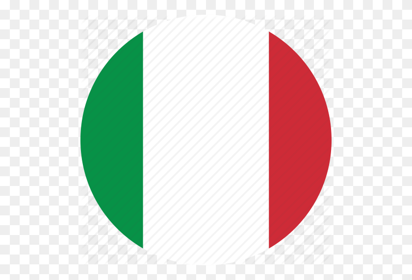 Circle, Circular, Country, Flag, Flag Of Italy, Flags, Italy - Italy Flag PNG