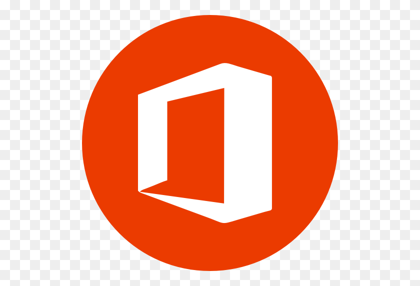Circle, Microsoft, Microsoft Office, Office, Round Icon Icon - Microsoft PNG