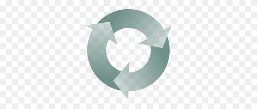 Circular Recycle Arrows Clip Art - Recycle Clipart Free