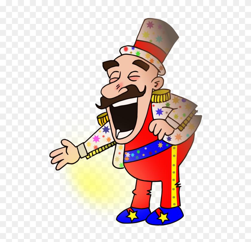 Circus Clown Ringmaster Entertainment Chef - Ringmaster Clipart