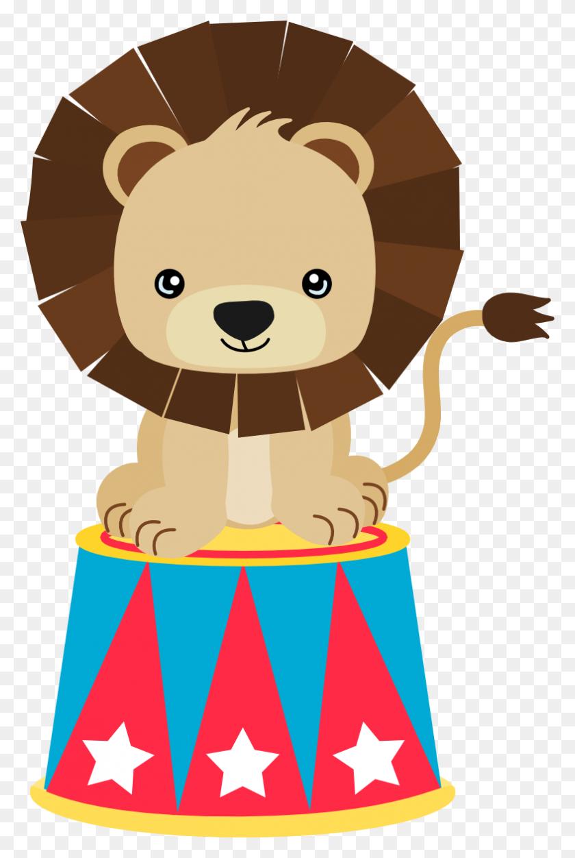 Circus Lion Clipart Clip Art - Circus Lion Clipart