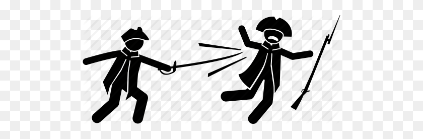 Civil War, Fight, Killing, Man, Soldier, Violence, War Icon - Revolutionary War Clipart
