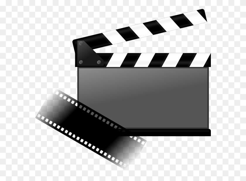 Clapboard Clip Art - Movie Clapboard Clipart