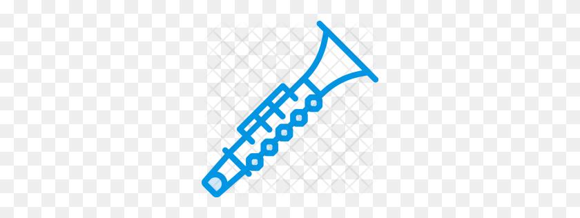 Clarinet Icon - Bass Clarinet Clip Art