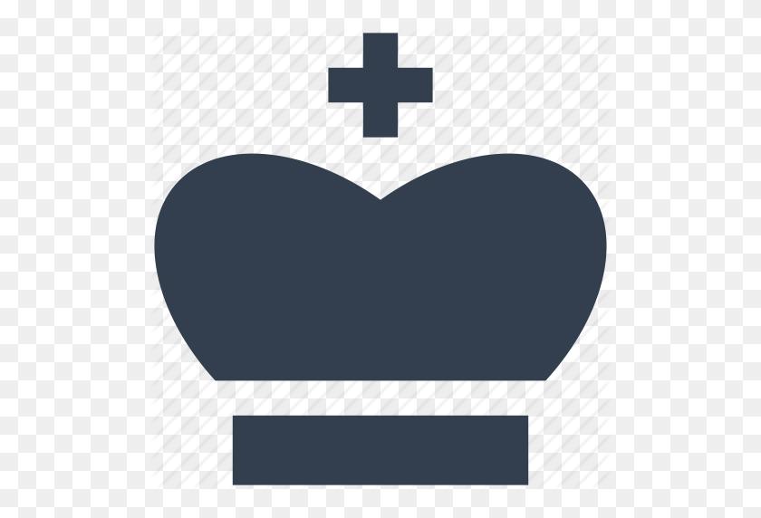 Classic, Crown, Monarh, Papa, Religious, Silhouette Icon - Crown Silhouette Clip Art