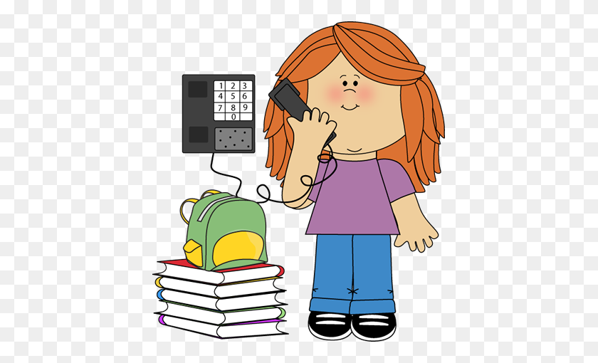 Classroom Phone Monitor School Clipart Clip Art - Preschool Classroom Clipart