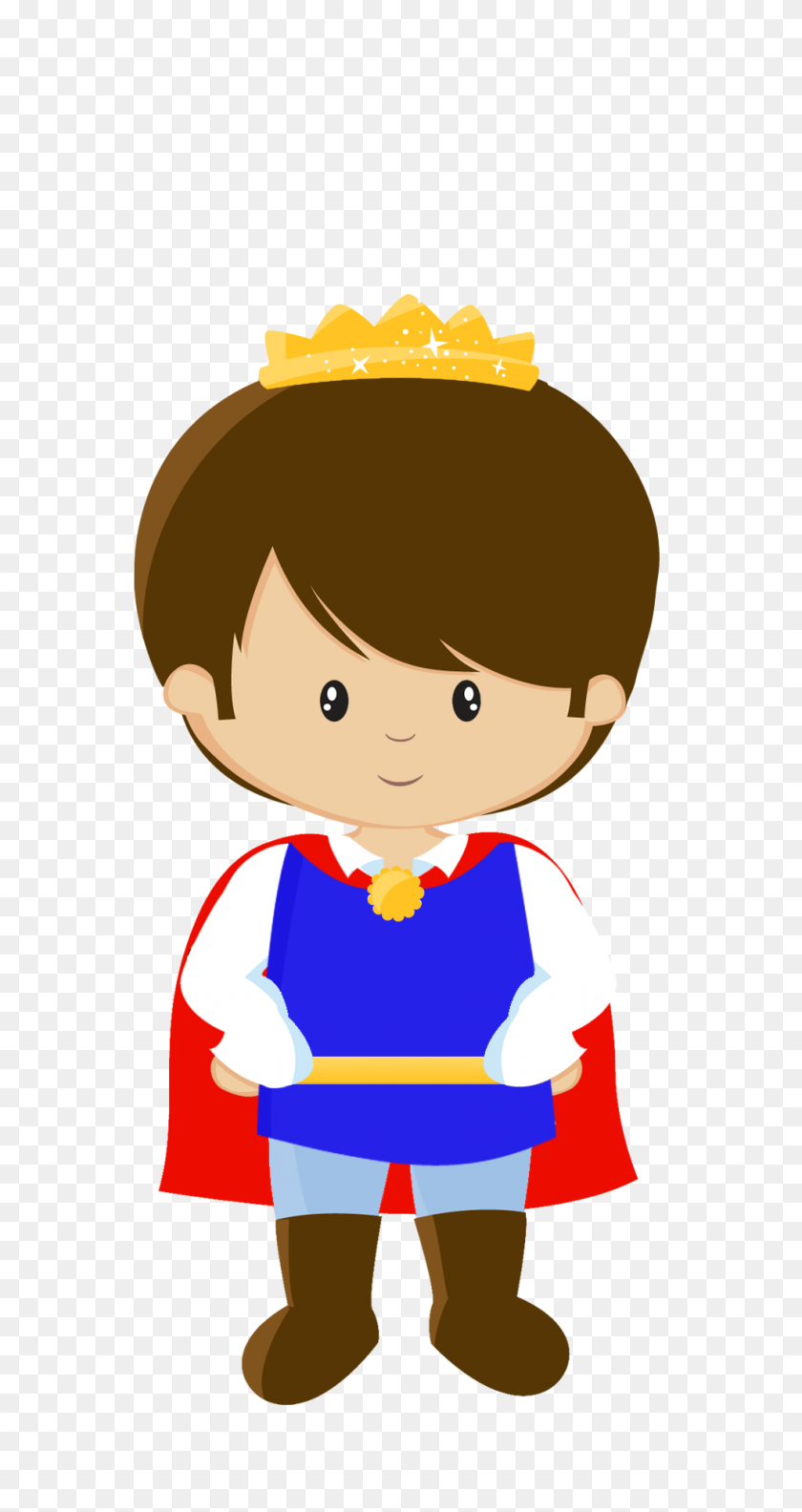 Clip Art - Prince And Princess Clipart