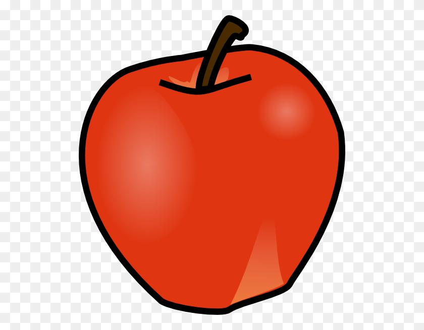 Clip Art Apple Orange Banana Clipart Apples And Pencil In Color - Orange Color Clipart