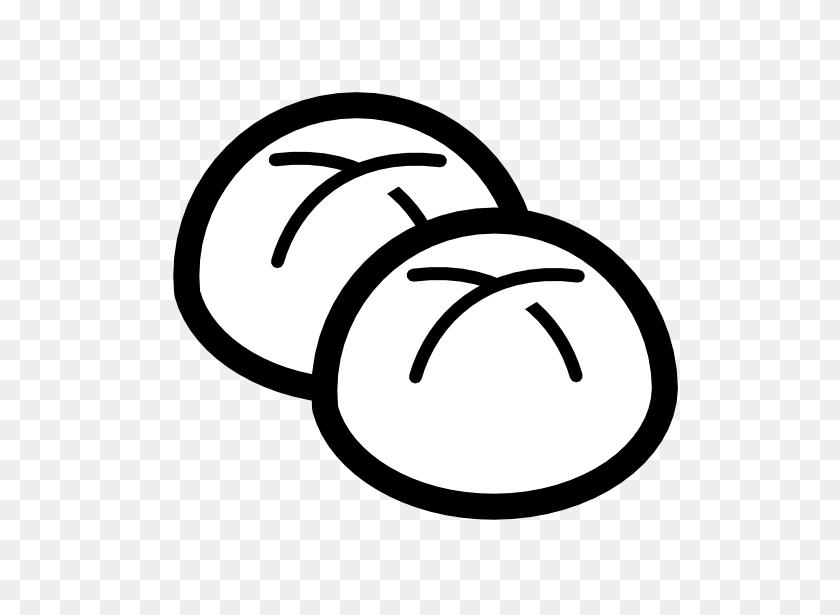 Clip Art Bakery Buns Black White Line Art - Bakery Clipart Black And White
