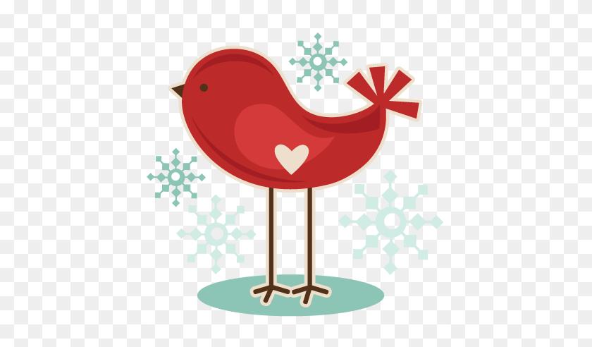 432x432 Clip Art Birds Winter - Cute Bird Clipart