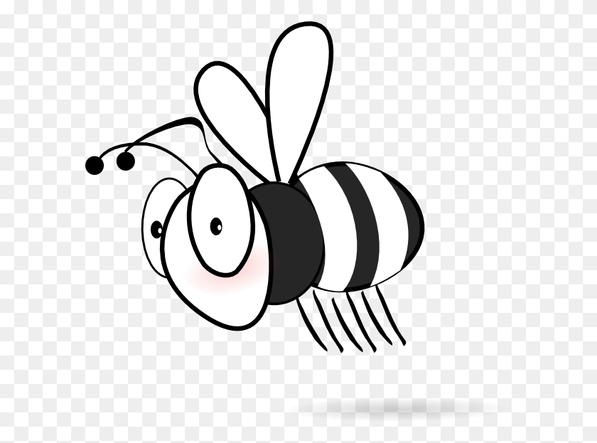 Clip Art Black And White Black And White Bee Clip Art - Pineapple Clipart Black And White