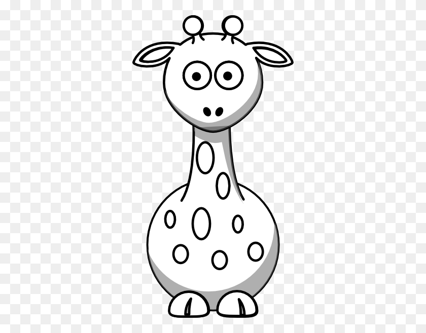 Clip Art Black And White Black And White Giraffe Clip Art - Shower Clipart Black And White
