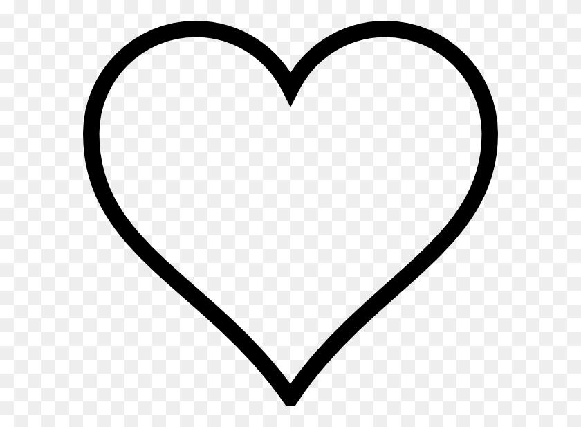 Clip Art Black And White Black And White Heart Clip Art - Rose Clipart Black And White