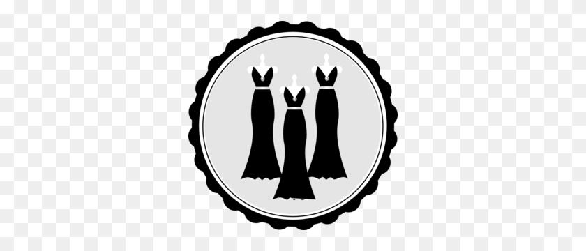Clip Art Black And White Bride And Bridesmaid Clipart - Bridesmaid Clipart