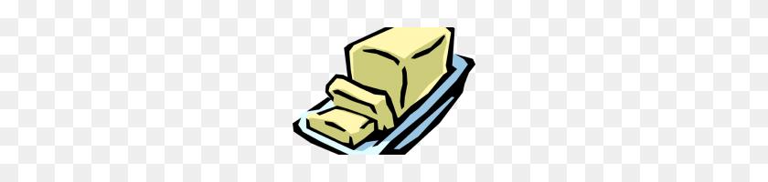 Clip Art Butter Hand Painted Butter Bread Bread Clipart Butter - Butter PNG
