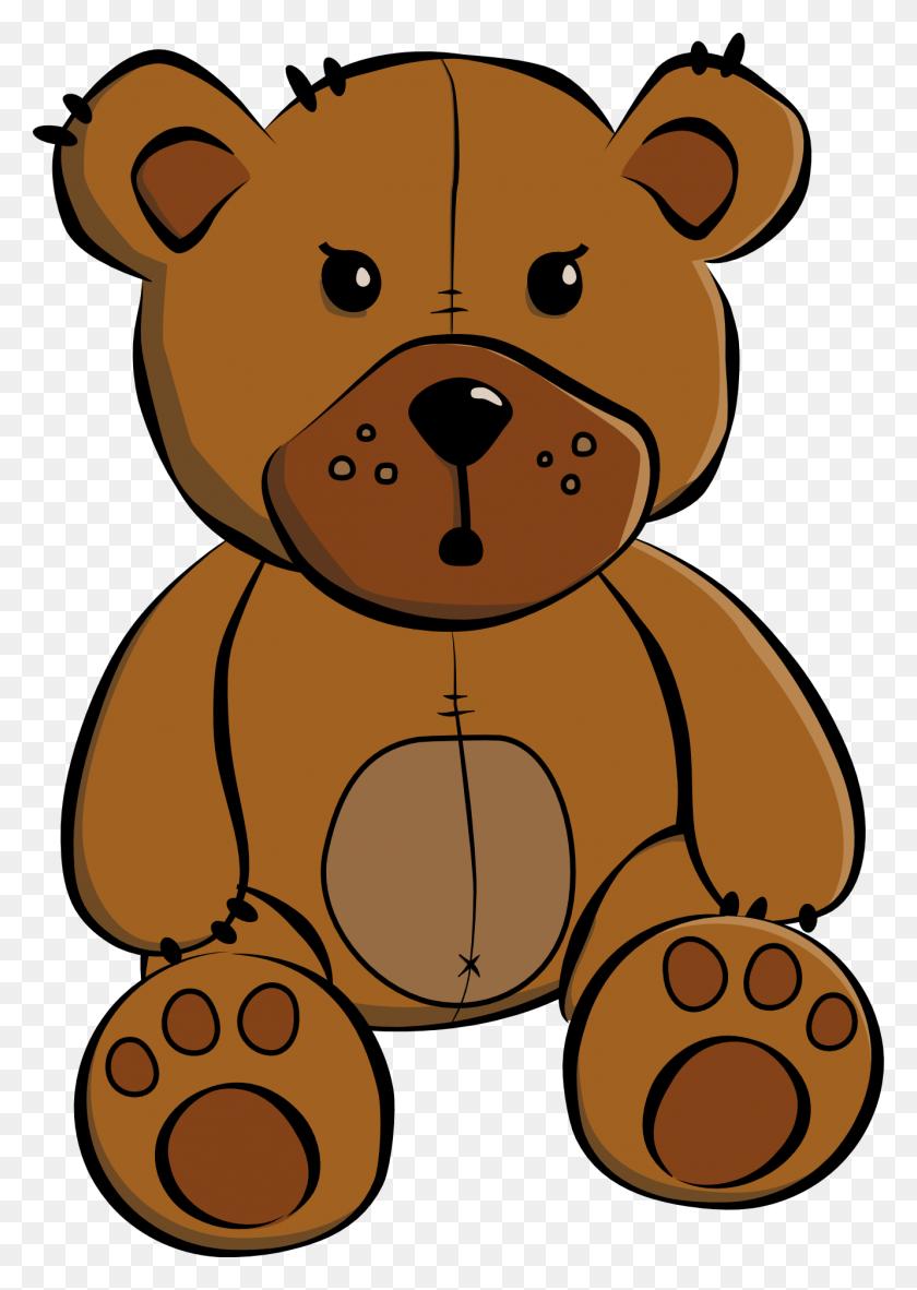 Clip Art Cartoon Teddy Bear - Panda Bear Clipart