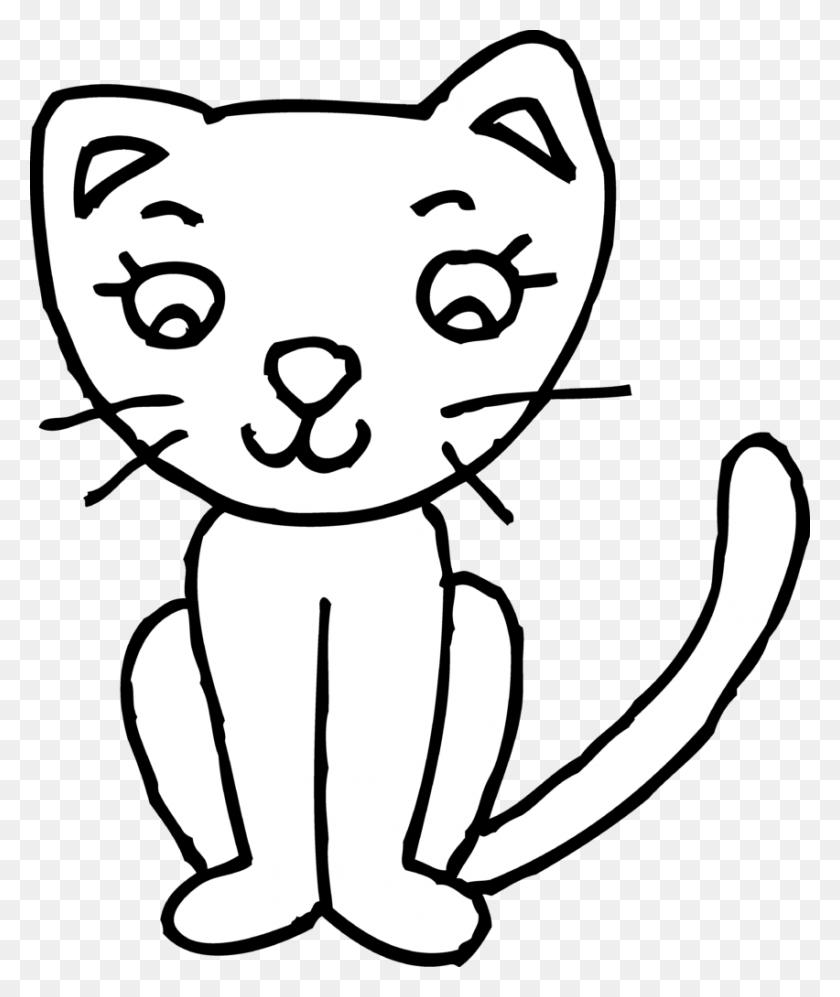 Clip Art Cat Pictures Winging - Running Cat Clipart