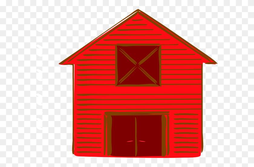 Clip Art Christmas Barns Clipart - Outhouse Clipart