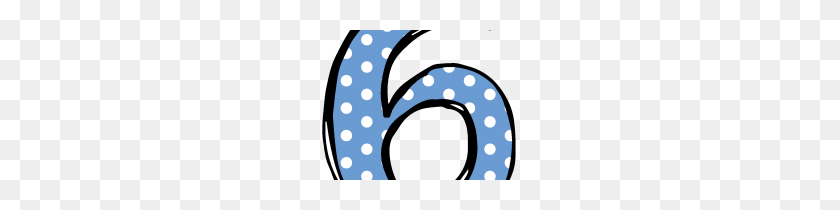Clip Art Clip Art Number - Number 6 Clipart