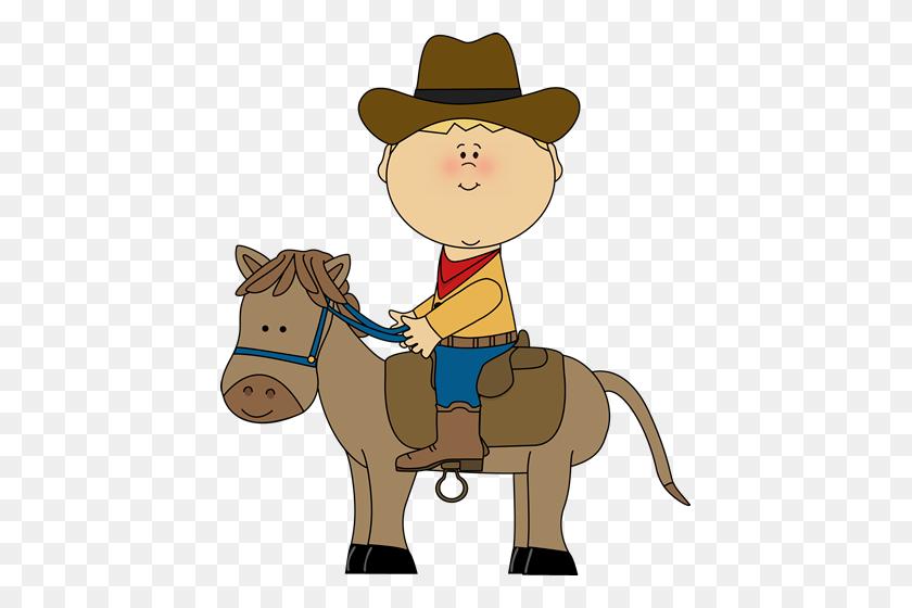 433x500 Clip Art Cowboy - Free Cowgirl Clipart