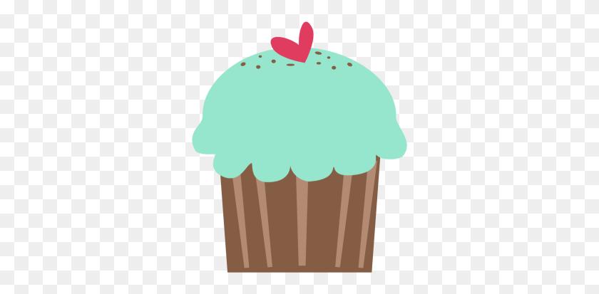 Clip Art Cupcake - Pink Cupcake Clipart