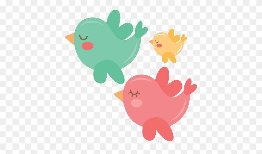 Clip Art Cute Bird Silhouette Valentine Scrapbook - Scrapbook Clipart Free