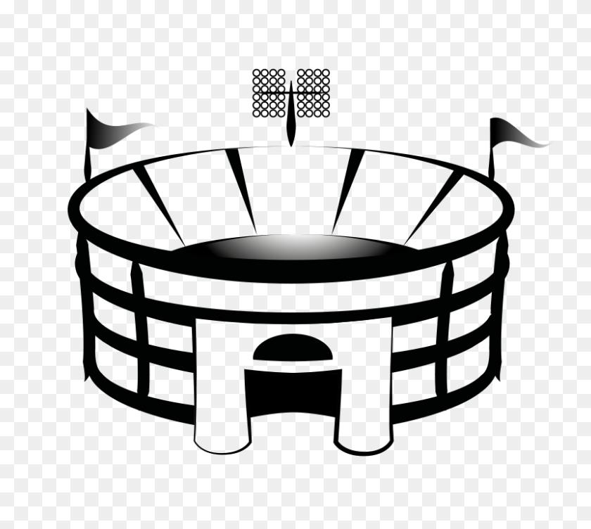 Clip Art Football Field - Football Game Clipart