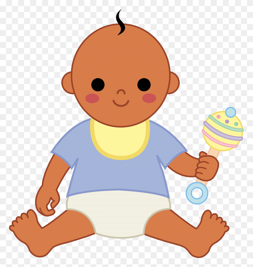 Clip Art For Babies - Baby Jesus Manger Clipart