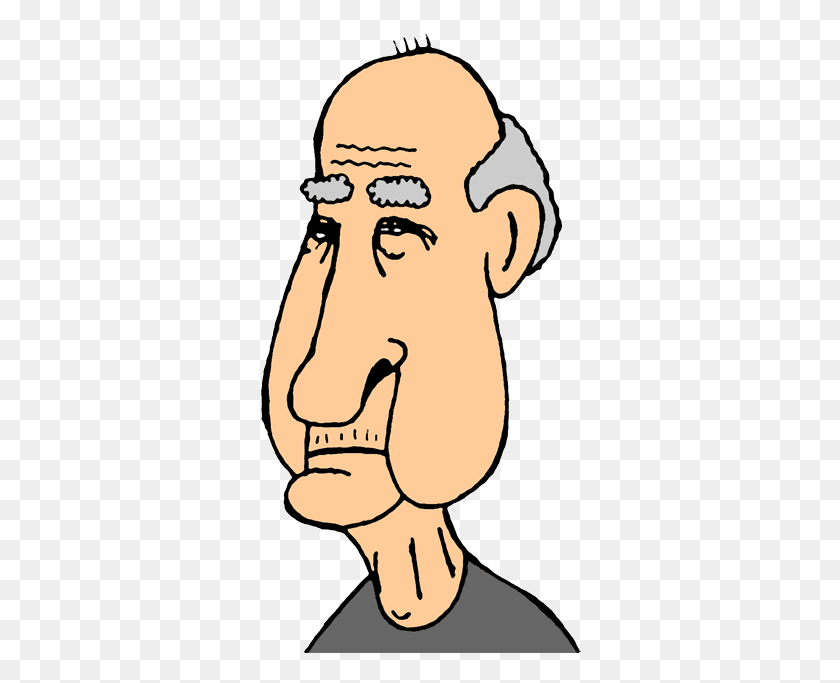 335x623 Clip Art Free Clipart Old People - Free Clipart Senior Citizens