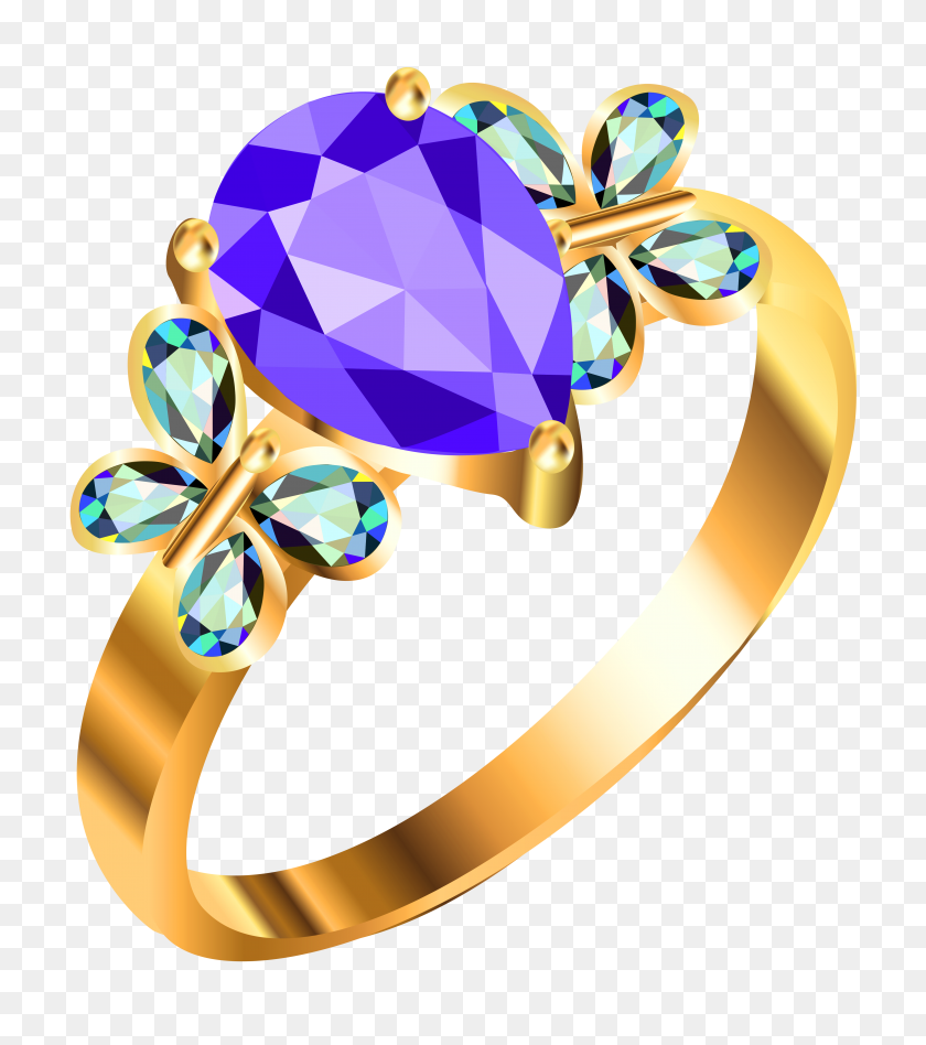 Clip Art Gold Rings, Clipart - Engagement Ring Clipart Free