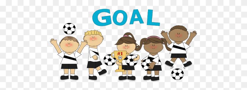 Clip Art Gt Soccer Team - Team Clipart